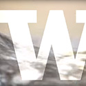 UW W logo with water