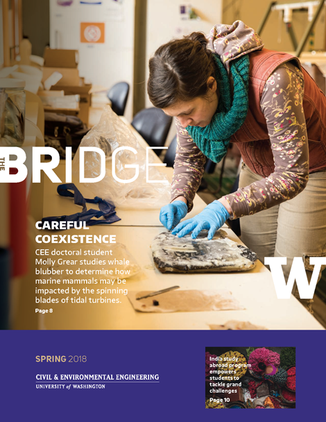cover of the Spring 2018 issue of The Bridge