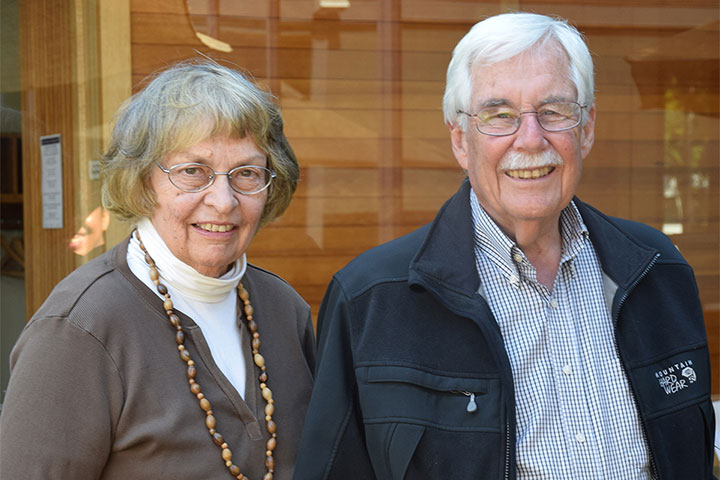Ann and Neil Hawkins