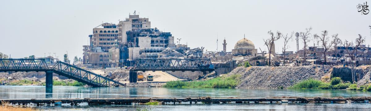 photo of Mosul City after the war
