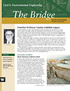 cover image from Spring '10 issue of The Bridge