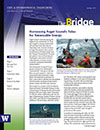 cover image from Spring '11 issue of The Bridge