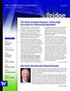 cover image from Spring '14 issue of The Bridge
