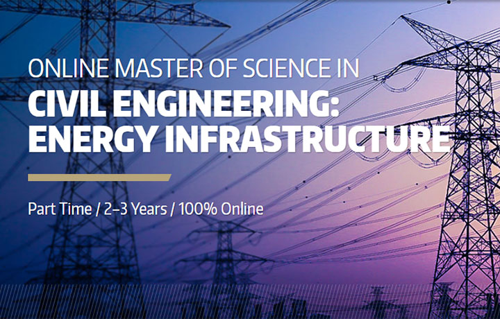 Master of Science in Civil Engineering Energy Infrastructure