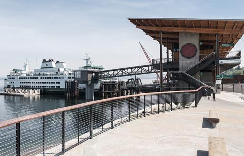 The new Mukilteo Ferry Terminal