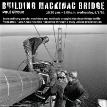 Building Mackinac Bridge